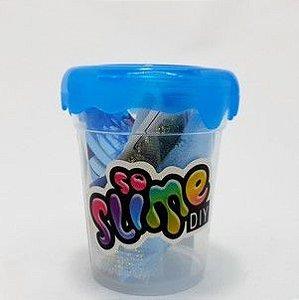 Pote De Slime Azul - Faça Você Mesmo