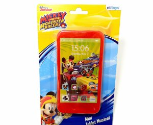 Mini Tablet Musical De Plástico Personagens Mickey Sobre Rodas - Etitoys