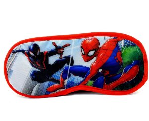 Máscara Para Dormir Infantil Personagens Homem Aranha - Etihome