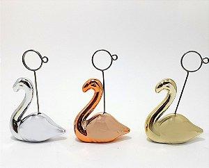 Porta Lembrete Cerâmica - Temático Cisne