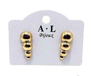 Brinco Ear Cuff Dourado - REF: PT0181