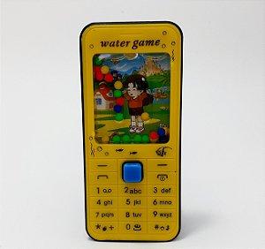 Mini Game De Água - Temático SmartPhone Amarelo E Preto
