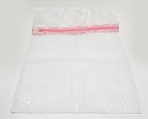 Bag De Segurança Para Roupas Delicadas - 40x30cm