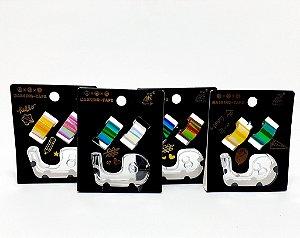 2 Fitas Autoadesivas Coloridas The Best Com Suporte Transparente  - Moure Jar