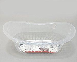 Banheira Organizadora Em Plástico Transparente - Interponte