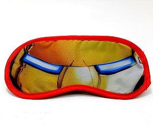 Máscara Para Dormir Infantil Personagens Os Vingadores Homem De Ferro - Etihome