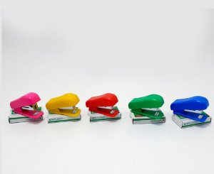 Mini Grampeador De Plástico - Colorido