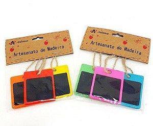 Pacote Com 3 Mini Porta Recado Colorido - Amigold