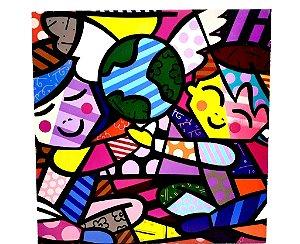 Quadro Decorativo Em MDF - Temático Mosaico