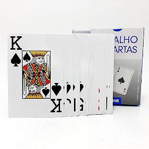 Baralho Com 54 Cartas Azuis - FWB