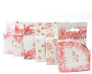 Fitas Washi Tape Adesiva Decorativa - Sakura
