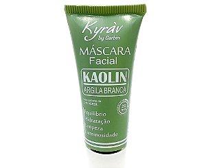 Máscara Facial Kaolin Argila Branca - Kyrav