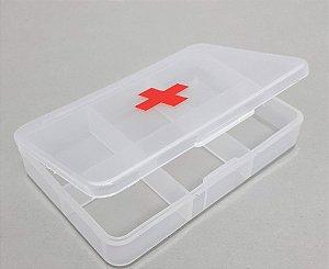 Porta Comprimidos De Plástico Com 6 Divisórias