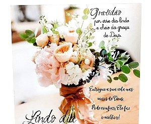 Quadro Decorativo Em MDF - Temático Frases Gratidão