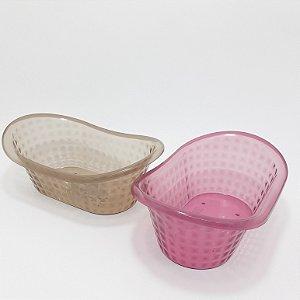 Banheira Organizadora Em Plástico Colorido - Interponte