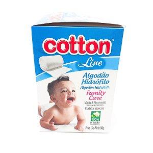 Caixa De Algodão Hidrófilo 50g - Cotton