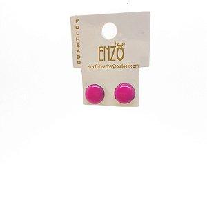 Brinco Pequeno Rosa - REF: PT0309