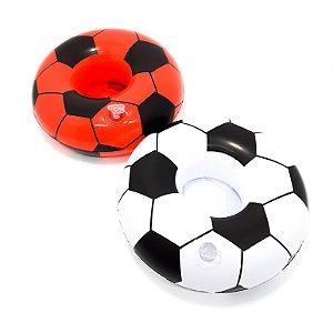 Boia Porta Copo Inflável - Temático Futebol