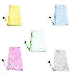 Necessaire Porta Objetos De Plástico Com Zíper - Colorido