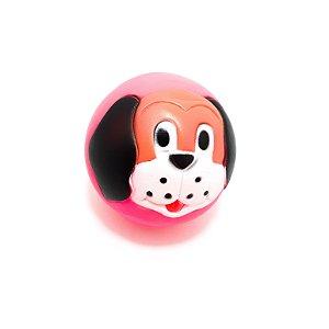 Bolinha Mordedor Para Pet Temática Dog - Rosa