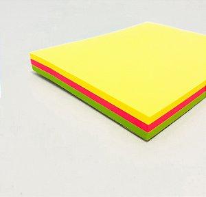 Bloco Adesivo De Anotações Colorido Com 100fls 7,5cmx10cm - WinPaper