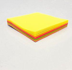 Bloco Adesivo De Anotações Colorido Com 100fls 76x76mm - FWB