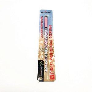 Pincel De Maquiagem Para Corretivo Cabo Com Glitter - Bello Charme