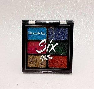 Paleta De Sombra Glitter Cor 5 - Six Glitter Chandelle
