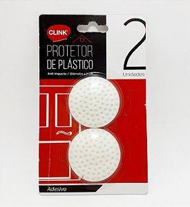 Protetores De Plástico Redondo Com 2 Unid - Clink
