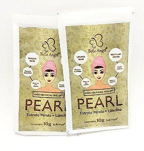 2 Sachês Máscara Facial Pearl Peel Off 10g - Belle Angel