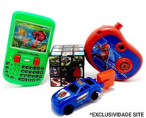 Kit Brinquedos Temáticos Infantil - 4 Peças