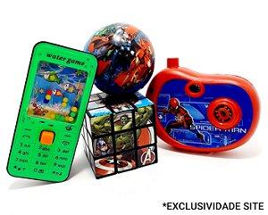 Kit Brinquedos Temáticos Infantil III - 4 Peças