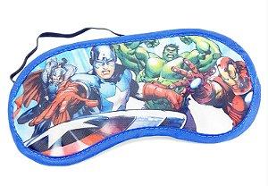 Máscara Para Dormir Infantil Personagens Os Vingadores - Etihome