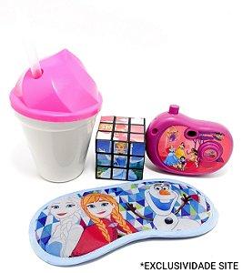 Kit Brinquedos Temáticos Infantil Com Copo II - 4 Peças