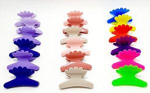 Piranha Sorriso De Plástico Grande Para Cabelo 6 Unidades - Colorido
