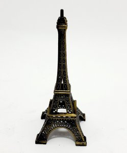 Enfeite Miniatura Torre Eiffel Paris De Metal 10Cm