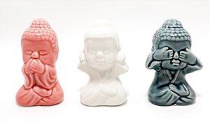 Enfeite Decorativo De Buda - Colorido