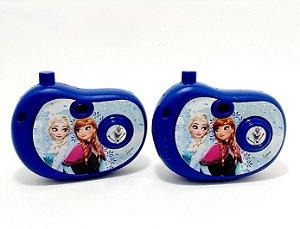 2 Câmeras Fotográficas Infantil Com Imagem  Frozen - Etitoys