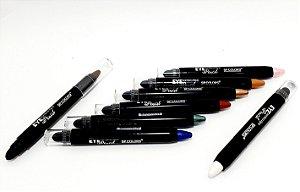 Sombra Lápis Com Esfumador Eye Pencil - SP Colors