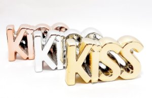 Enfeite Decorativo De Cerâmica Colorido - Temático Kiss