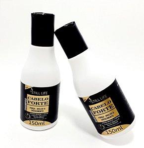 2 Frascos De Shampoo Cabelo + Forte 150ml - Still Life