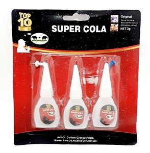 Embalagem Com 3 Unidades De Super Cola Para Objetos - Top 10