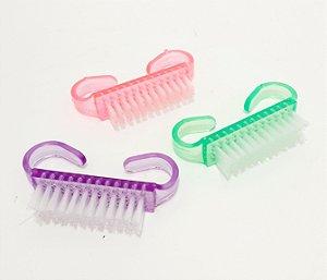 Embalagem Com 3 Escovinhas Pequenas Multiuso De Plástico - Colorido