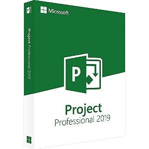 Microsoft Project Professional 2019 – 32 / 64 Bits – ESD