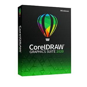 CorelDRAW Graphics Suite 2020 licença vitalícia para Windows/MAC (Download)