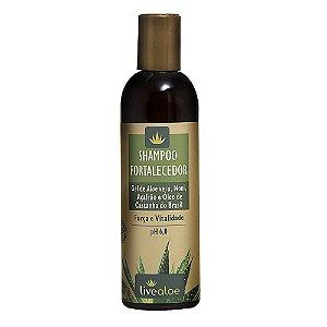 Shampoo Vegano Fortalecedor Livealoe 240 ml