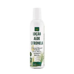 Loção Corporal Natural Vegana Citronela Livealoe 200ml