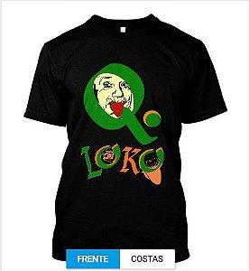 Camiseta MODA Q Loko esse cientista