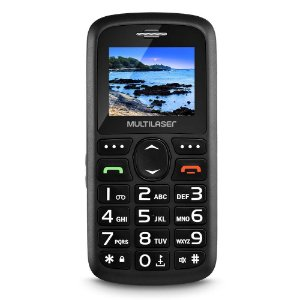 Celular Vita Dual Chip Tela 1,8 Pol. Usb E Bluetooth Preto Multilaser - P9048