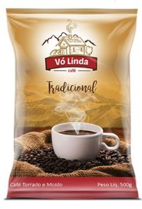 Café Vó LindaTorrado e Moído - 500g.